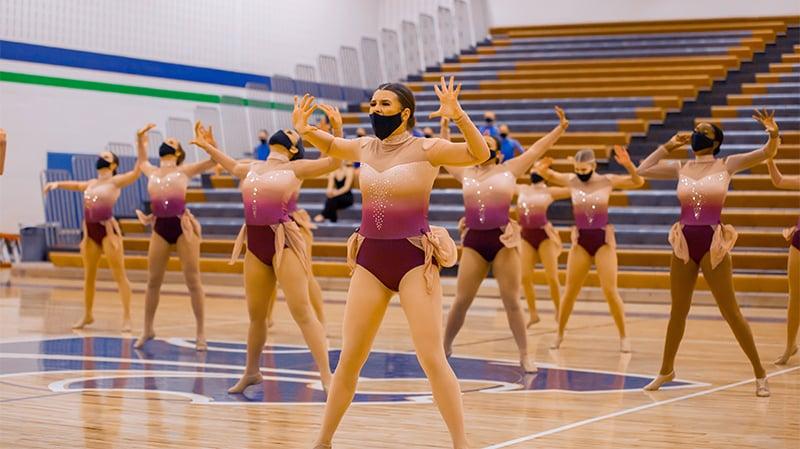 Eagan High School Dance team