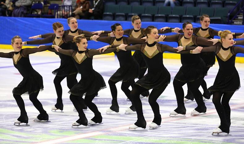 synchronized skating dresses at eastern skating championships