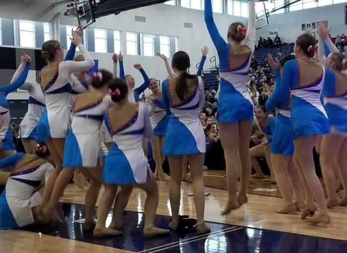 Eau Claire North WACPC Dance Team