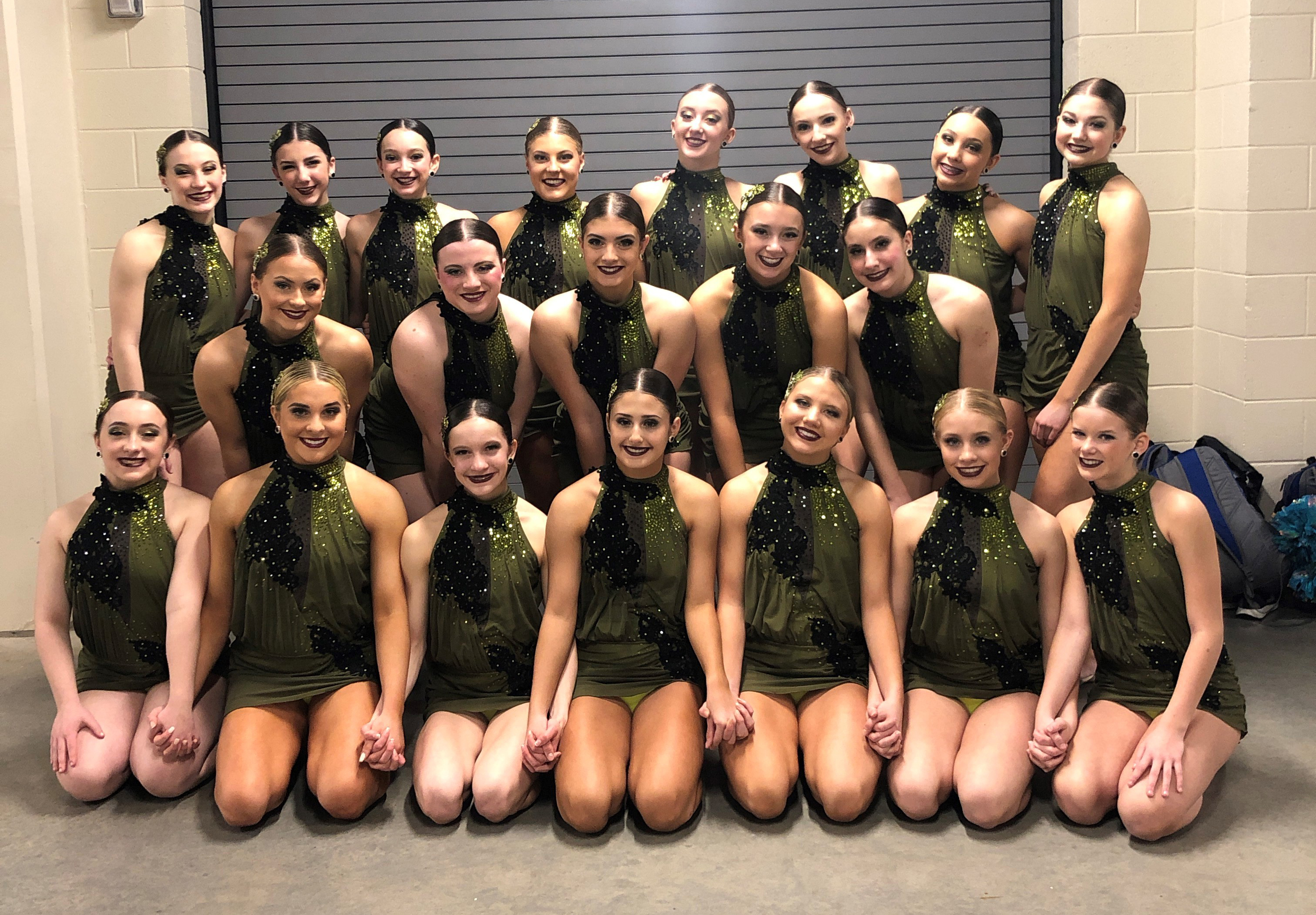 Eisenhower High School Junior Varsity Dance Team Jazz