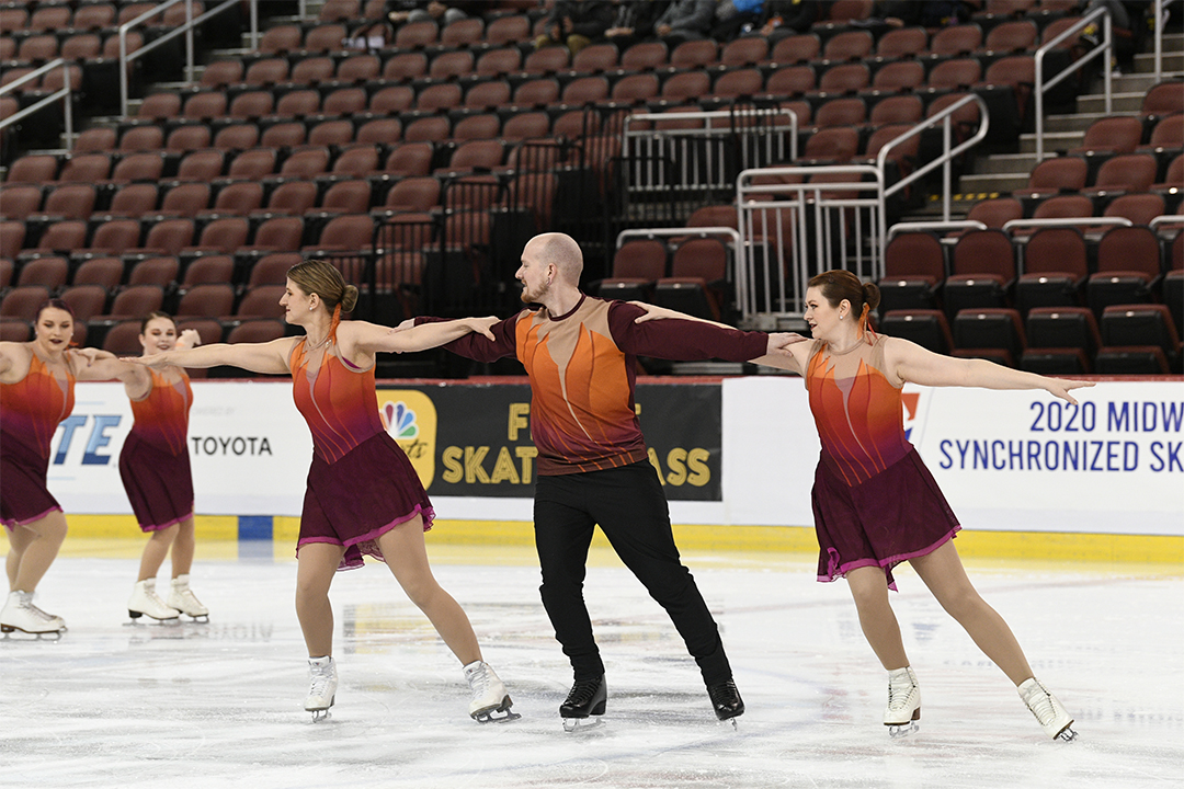 Fire and Ice Open Adult Synchronized Skating Team