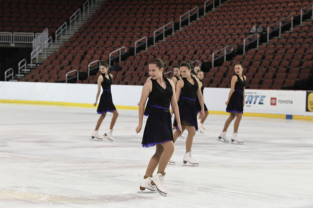 Flatirons Sparks Open Juv Synchronized Skating Team