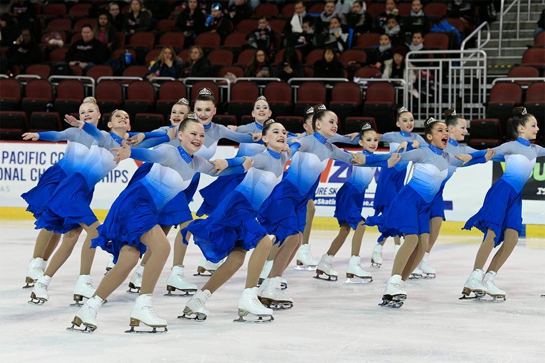 Fond Du Lac Blades Juvenile Synchronized Skating Team