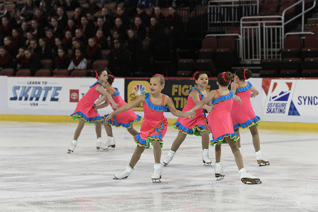 Fond Du Lac Blades Synchronized Skating Team Custom Dresses