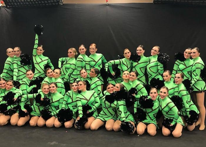 Franklin Dance Team Pom Uniform