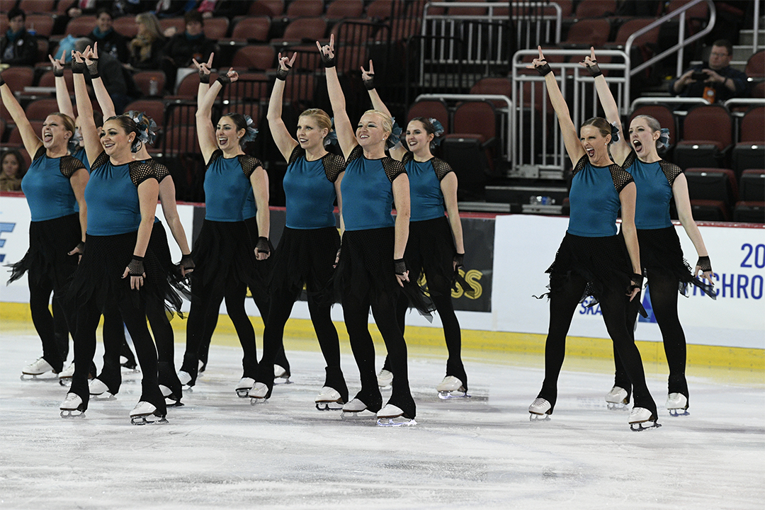 Goldenettes Masters Synchronized Skating Team