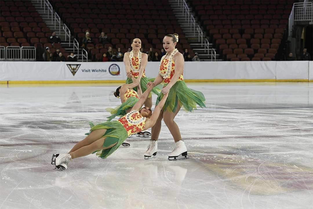 Hockettes Jr Short Synchronized Skating Team