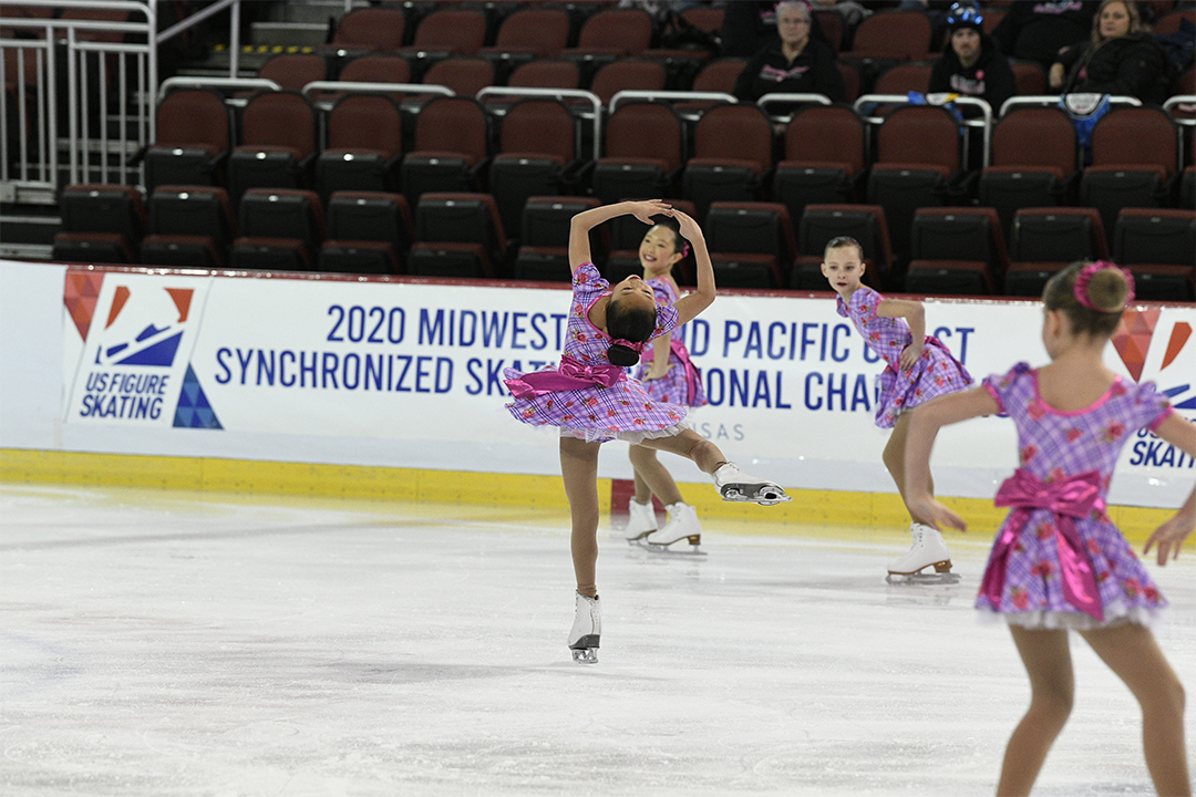Hockettes Preliminary Synchronized Skating Team