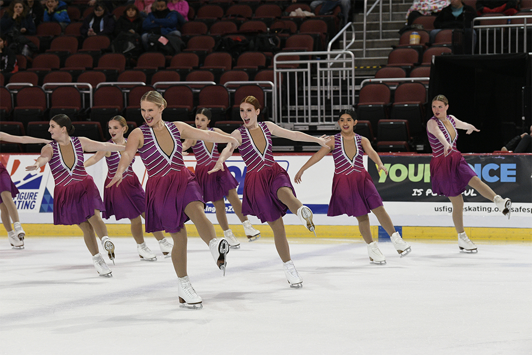KC Illusion Intermediate Synchronized Skating Team