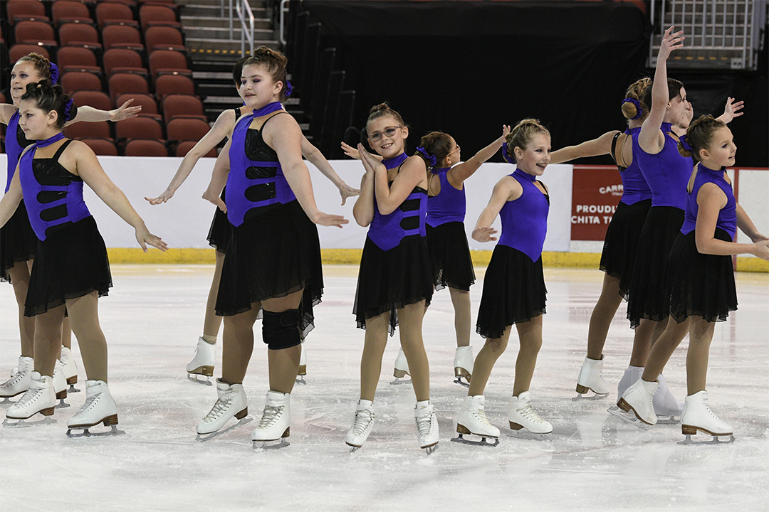 KC Illusion Pre-Juv Synchronized Skating Team