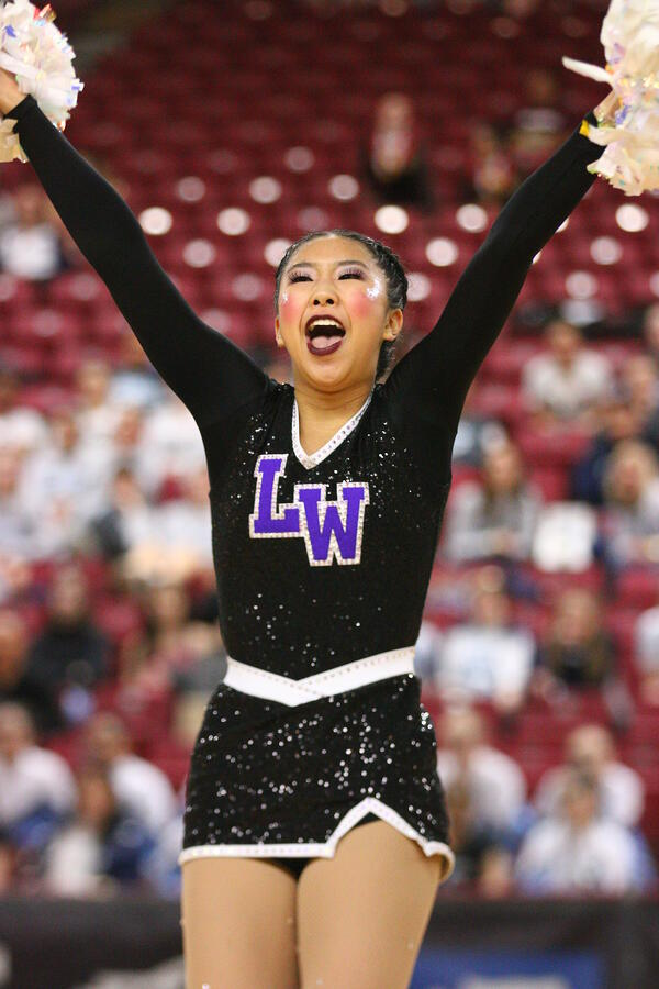Lake Washington Pom dance dress WA state competition