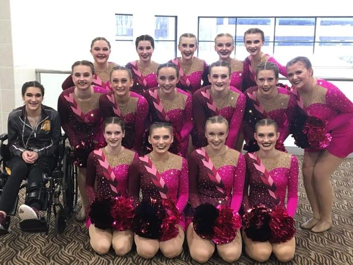 Luxemburg-Casco Dance Team Pom Uniforms