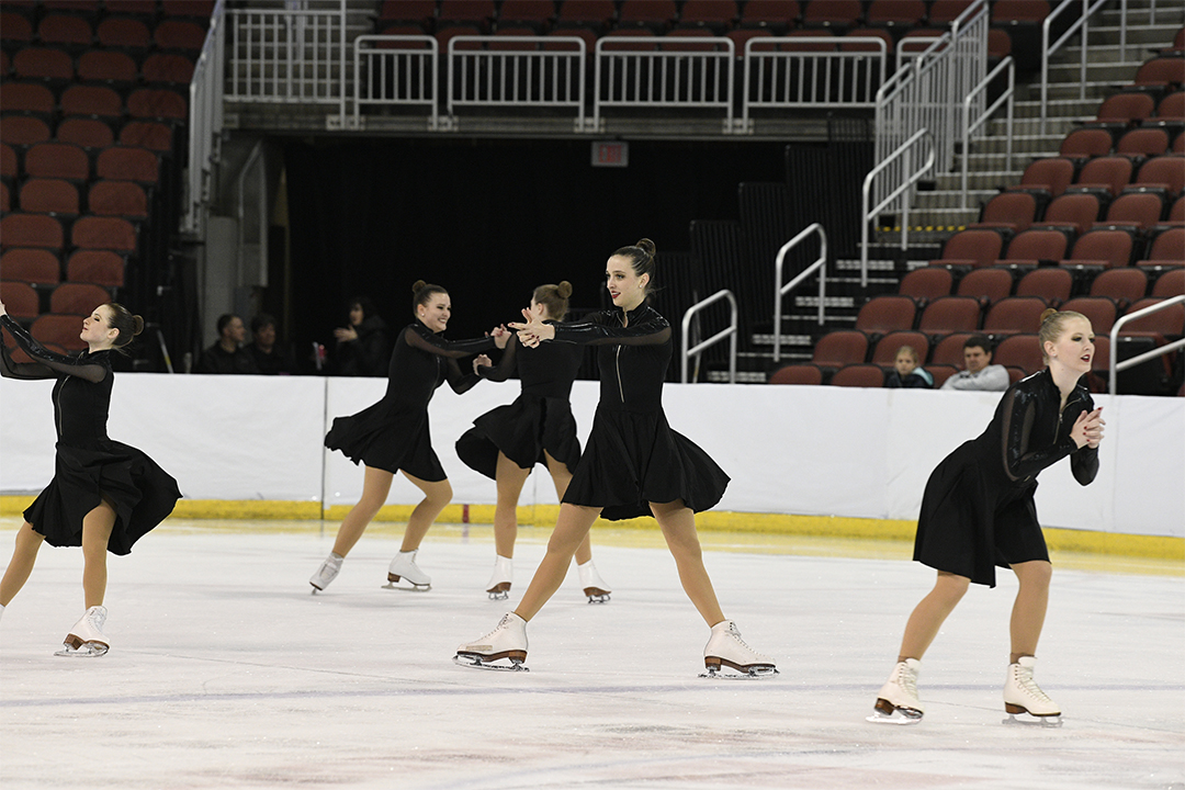 Miami University Club Team Open Collegiate Synchronized Skating Team