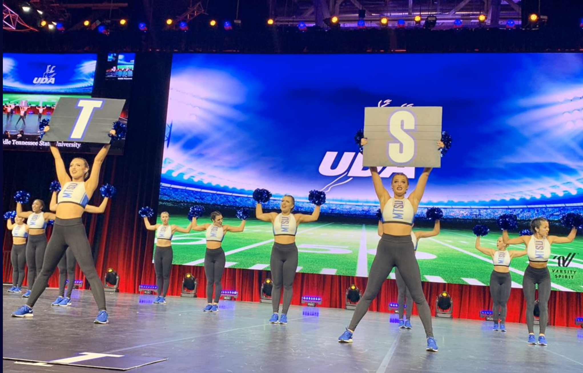 Middle Tennessee State University UDA Nationals