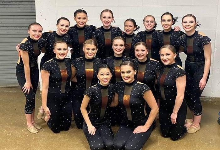 New Berlin Eisenhower Dance Unitard