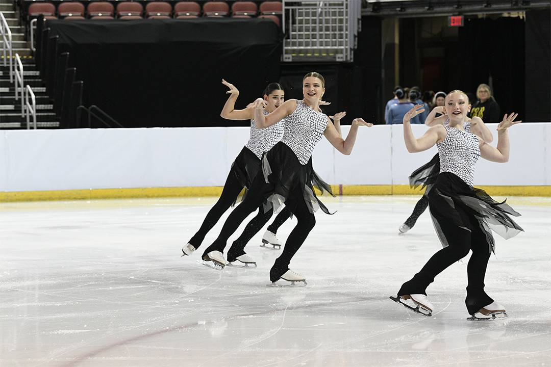 Northern Lights Open Juv Synchronized Skating Team