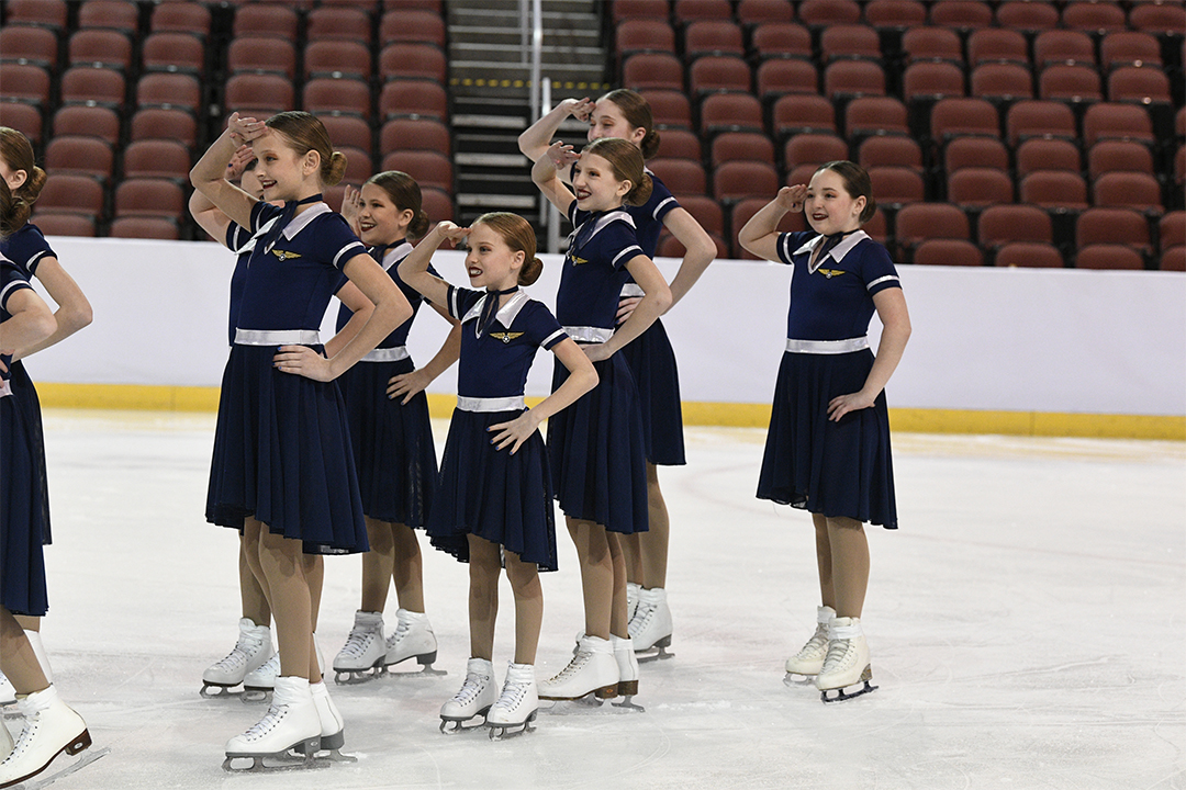 Northern Lights Pre-Juv Synchronized Skating Team