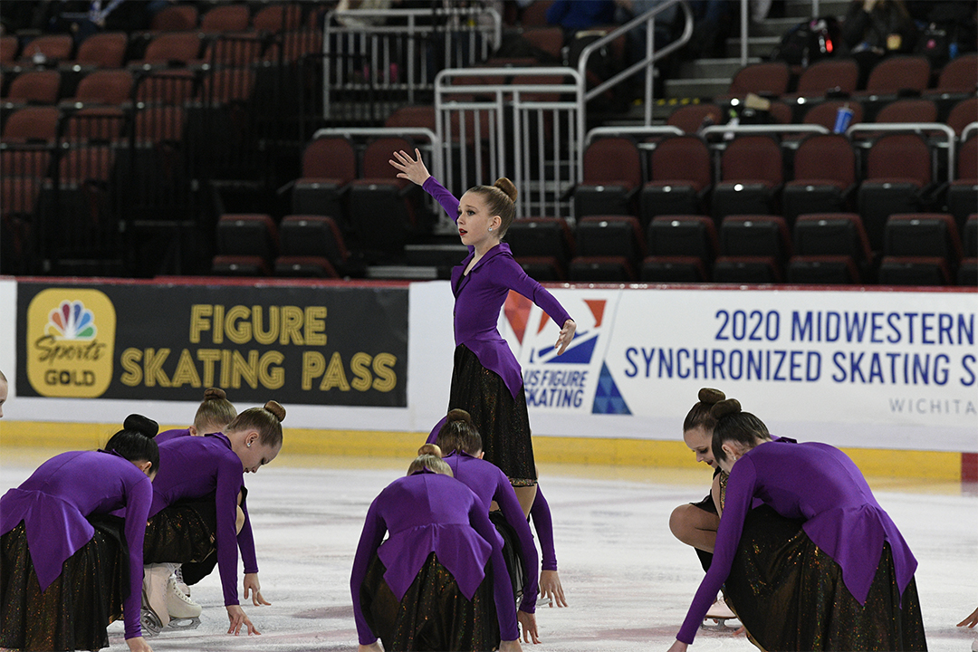 Northernettes Juvenile Synchronized Skating Team