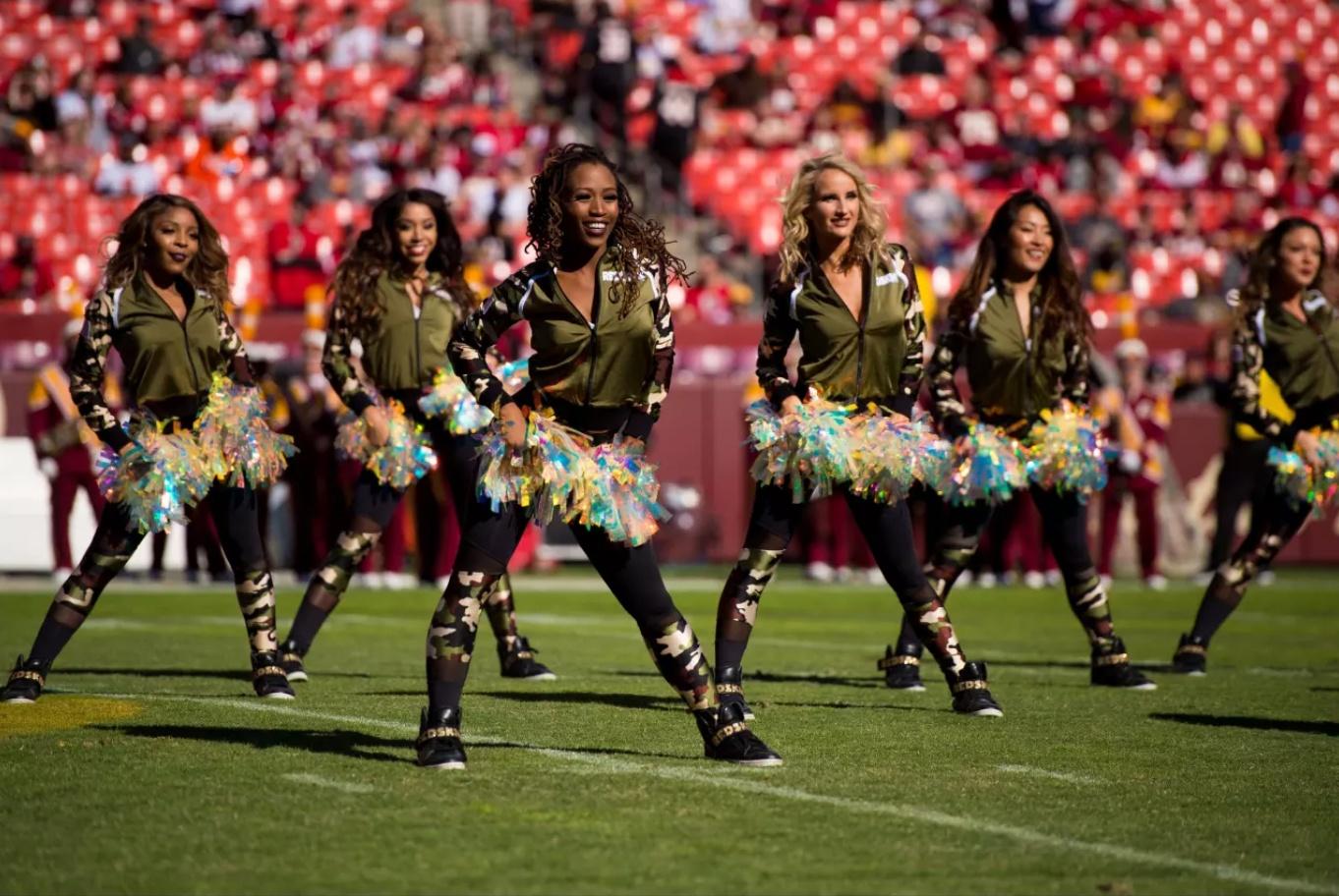 Military appreciation pro cheer uniforms