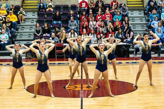 River Falls Dance Team Jazz Dance Costumes