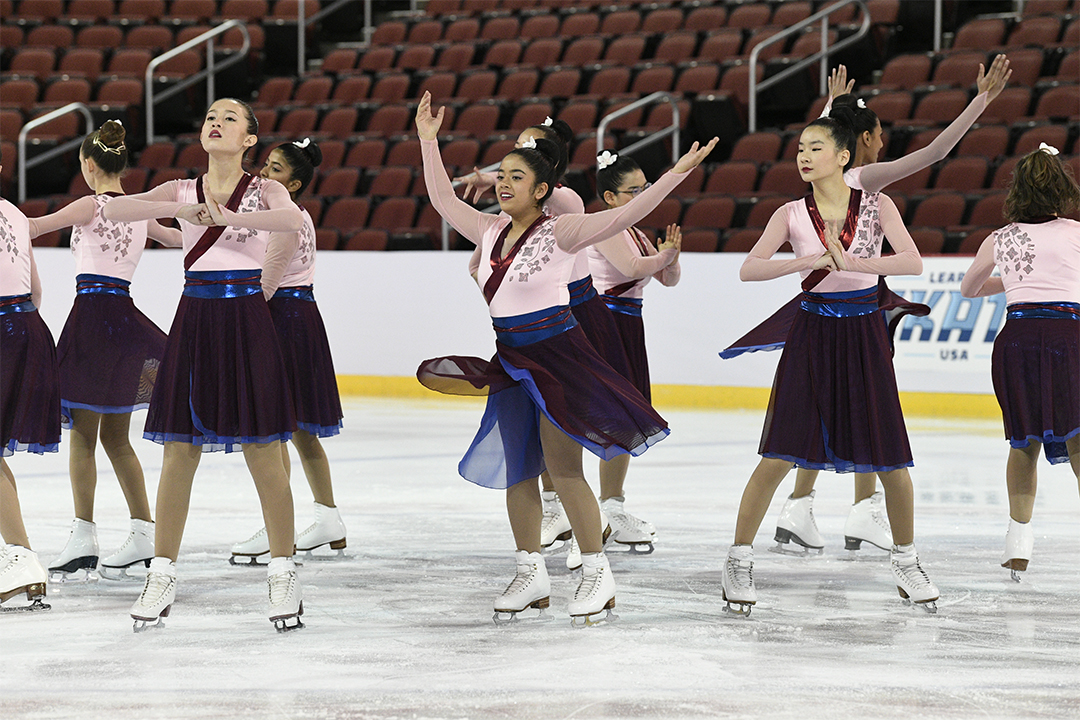 Silver Stars Open Juv Synchronized Skating Team
