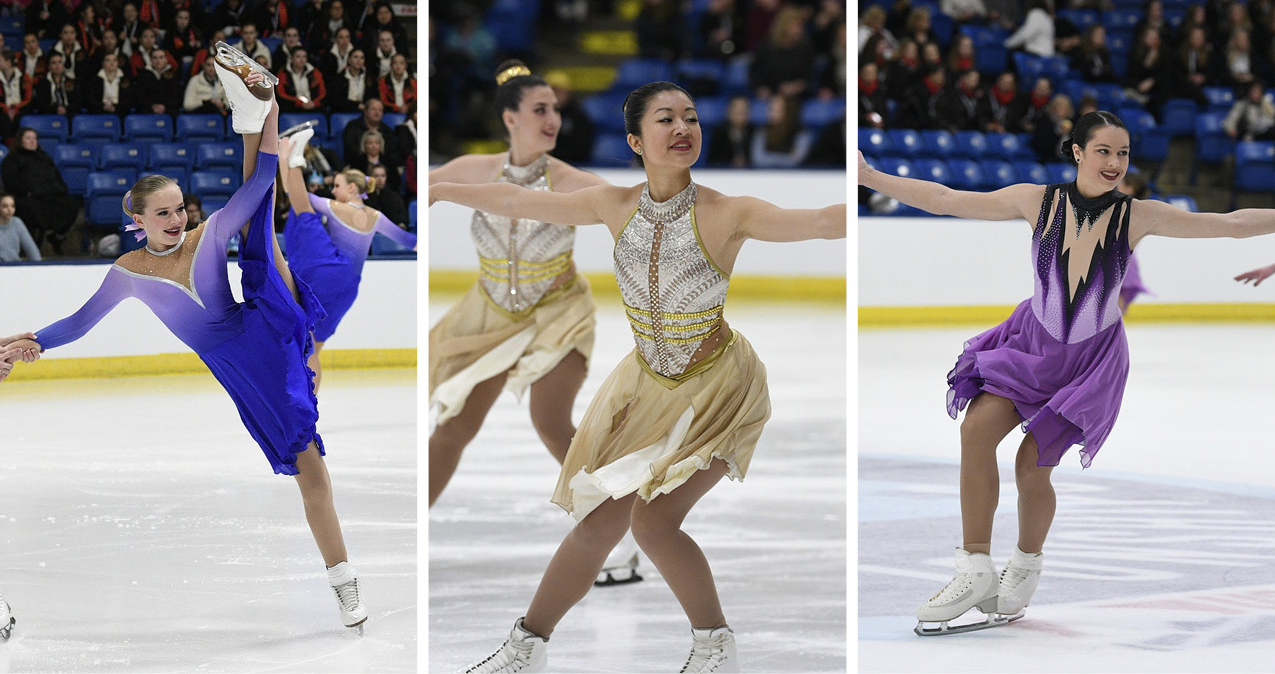 2019 synchronized skating competitions