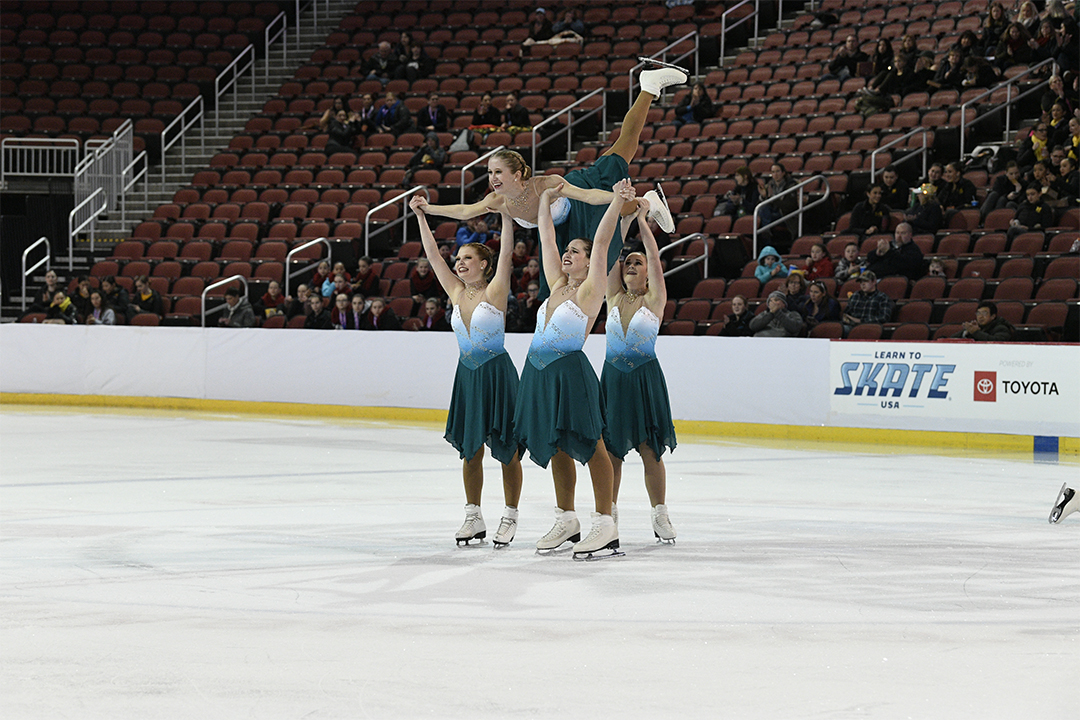St Louis Synergy Junior Free Skate Synchronized Skating Team