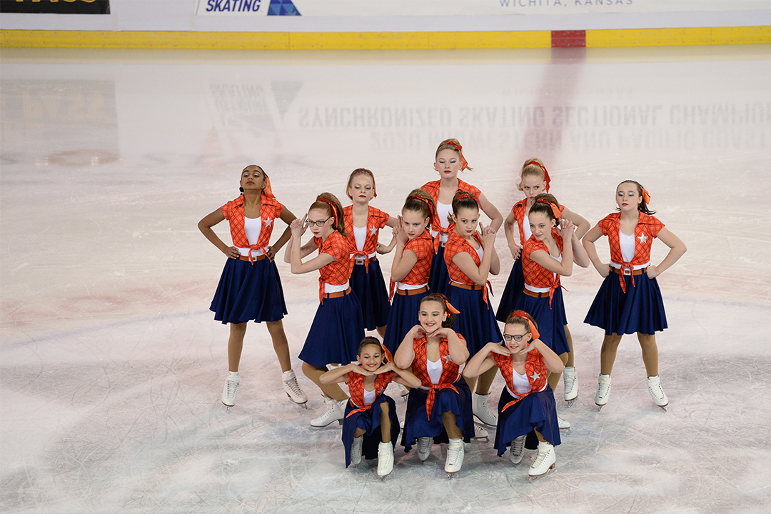 St Louis Synergy Pre-Juv Synchronized Skating Team