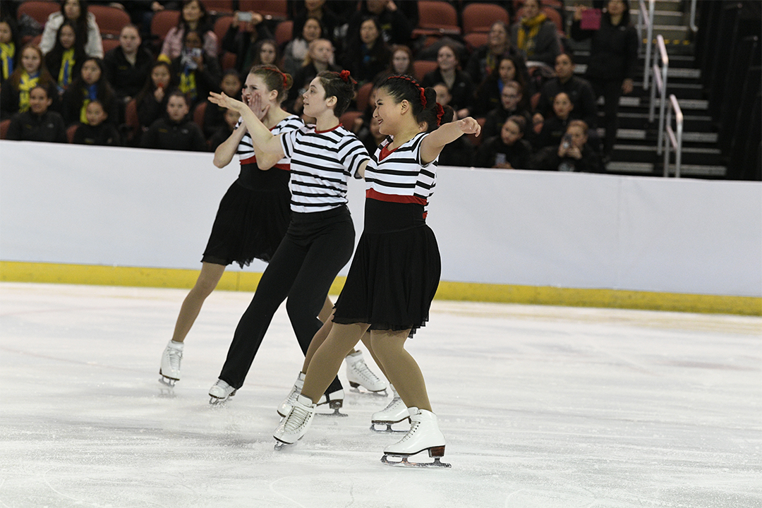 Tremors of San Fran Open Juv Synchronized Skating Team
