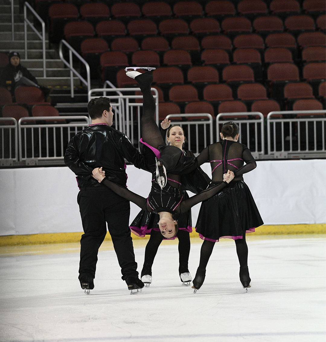 Trine University Collegiate Synchronized Skating Team