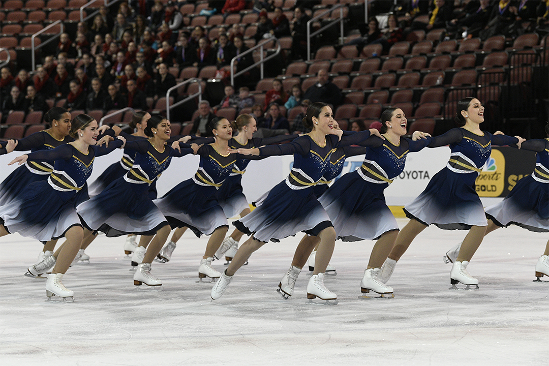 University of Michigan Collegiate Synchronized Skating Team