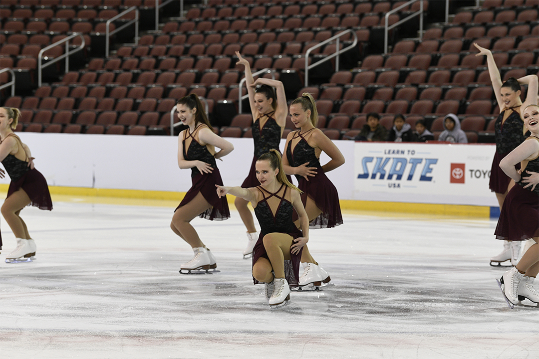 University of Notre Dame Open Collegiate Synchronized Skating Team