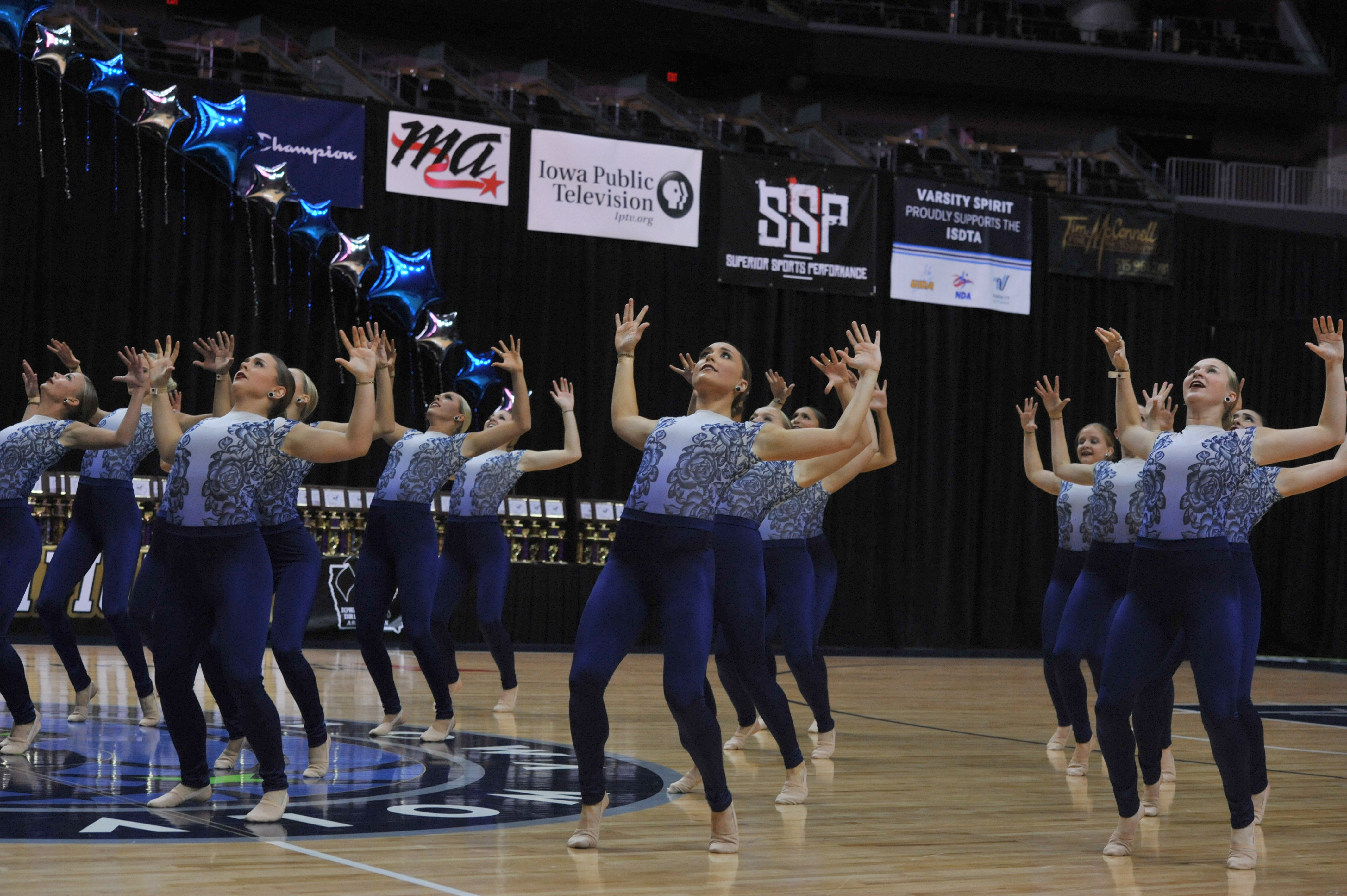 University of Iowa Dance Team Jazz Dance Unitard