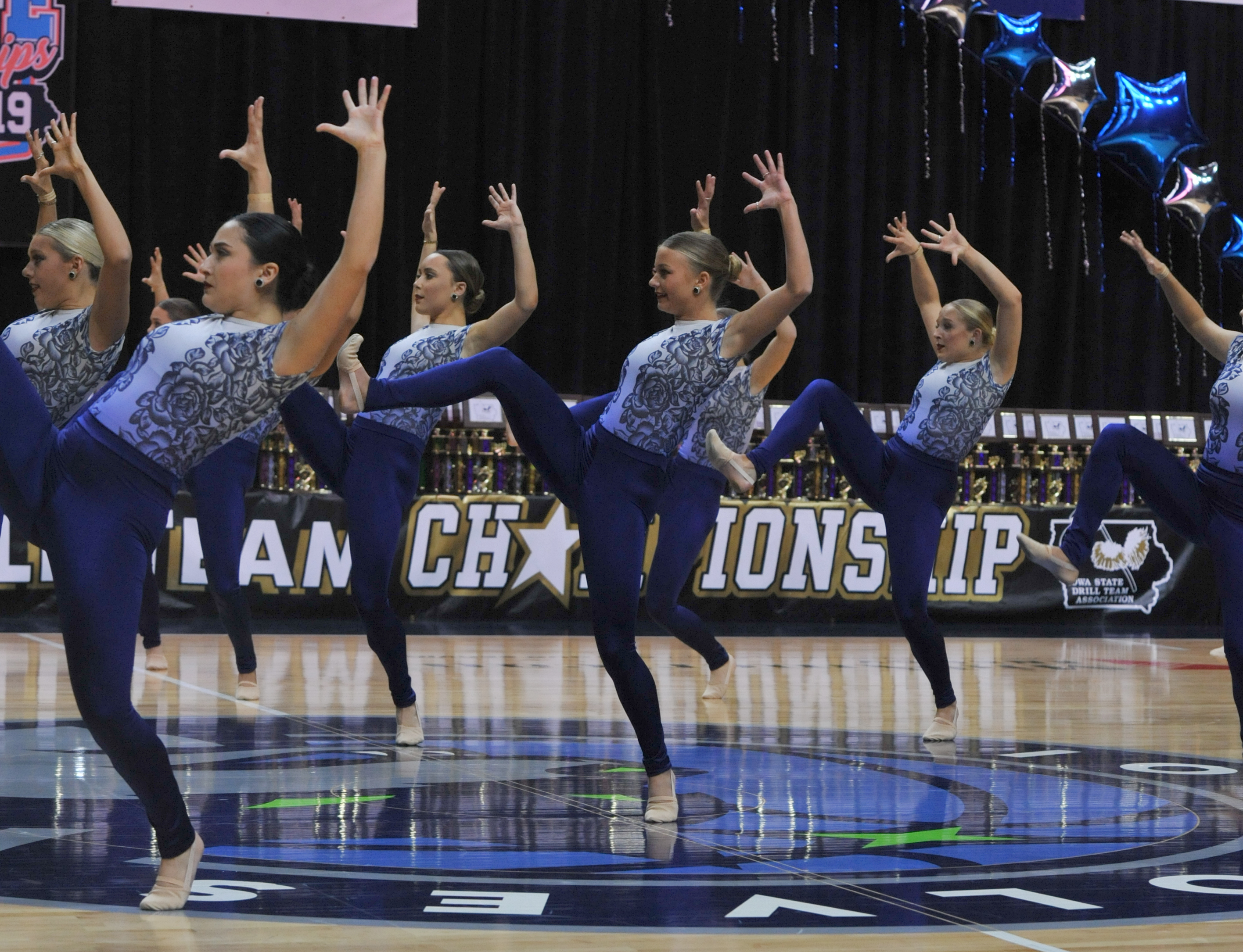 University of Iowa Dance Team Jazz Routine