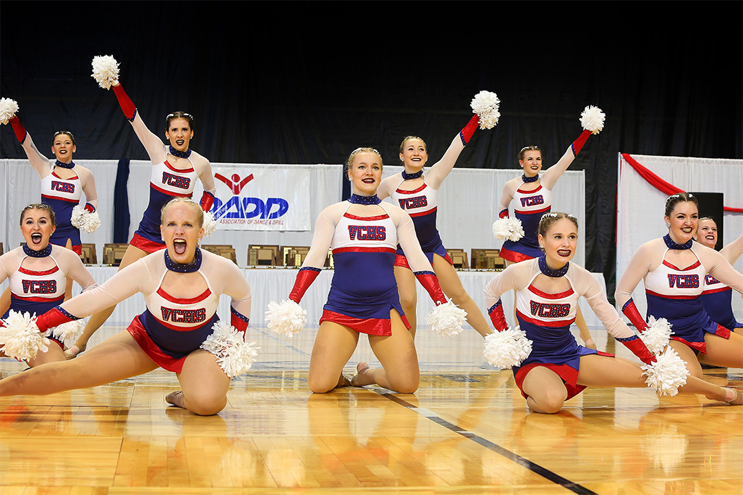Valley City Dance Team Pom Uniform