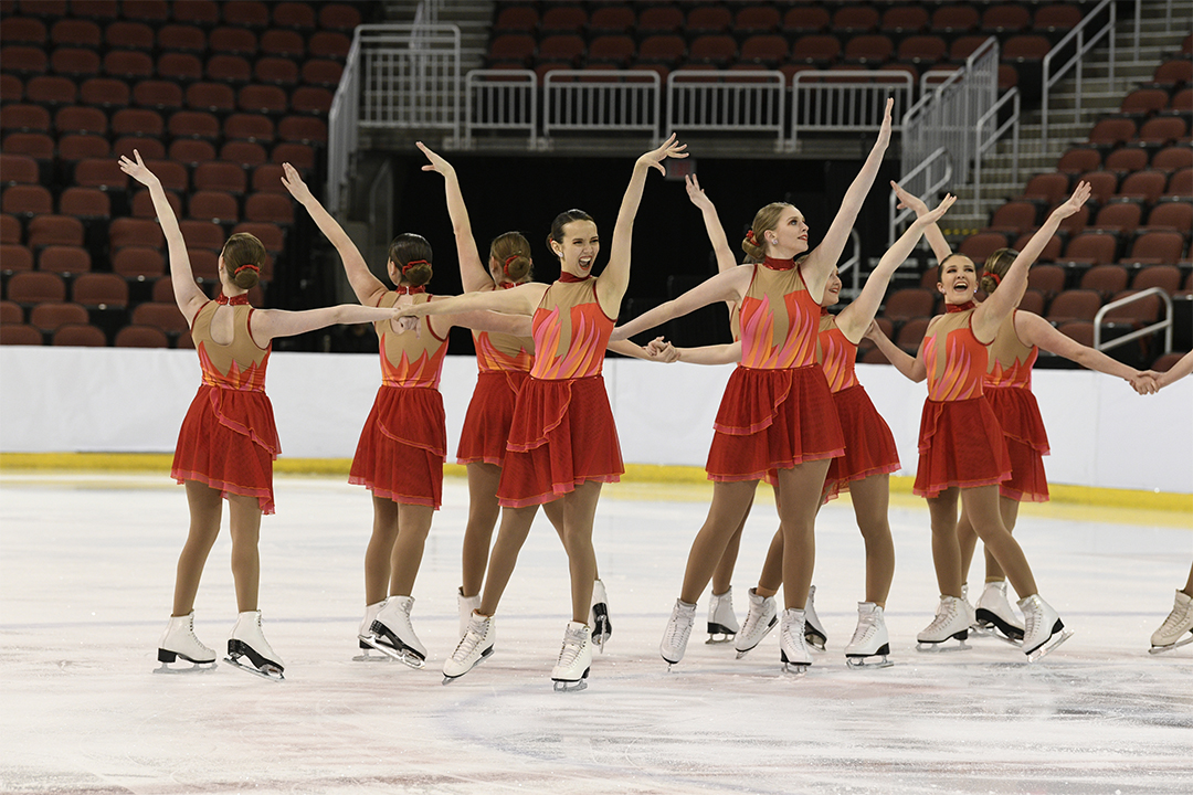 Western Michigan University Open Collegiate Synchronized Skating Team