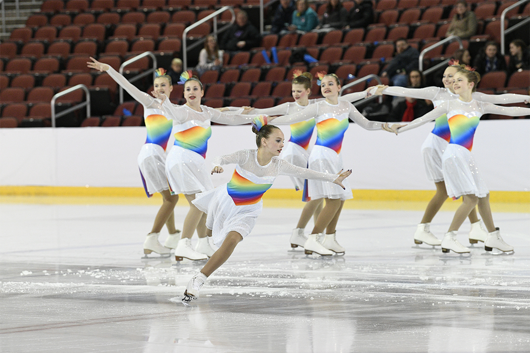 Windjammers Open Juv Synchronized Skating Team