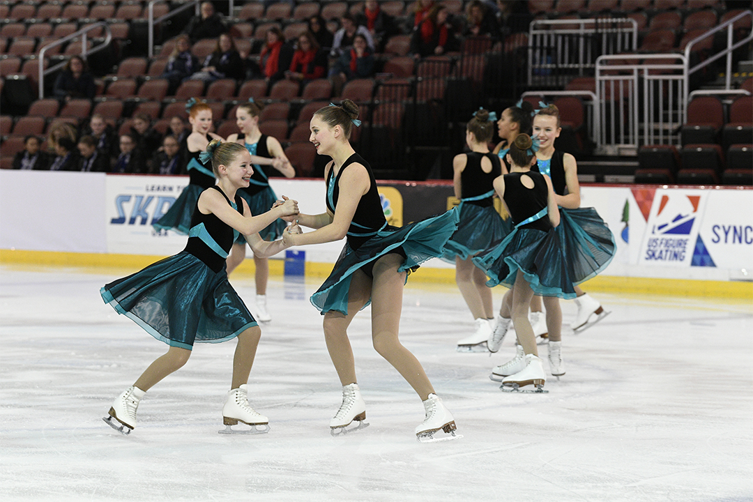 Windjammers Pre Juv Synchronized Skating Team