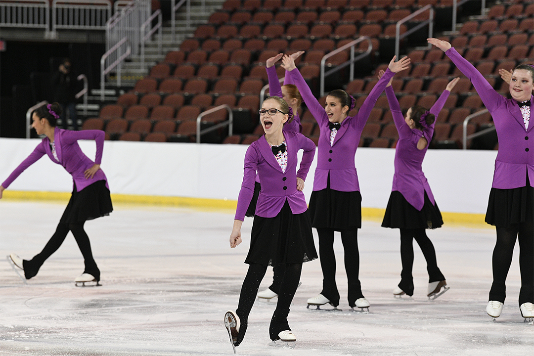Wisconsin Edge Pre-Juv Synchronized Skating Team