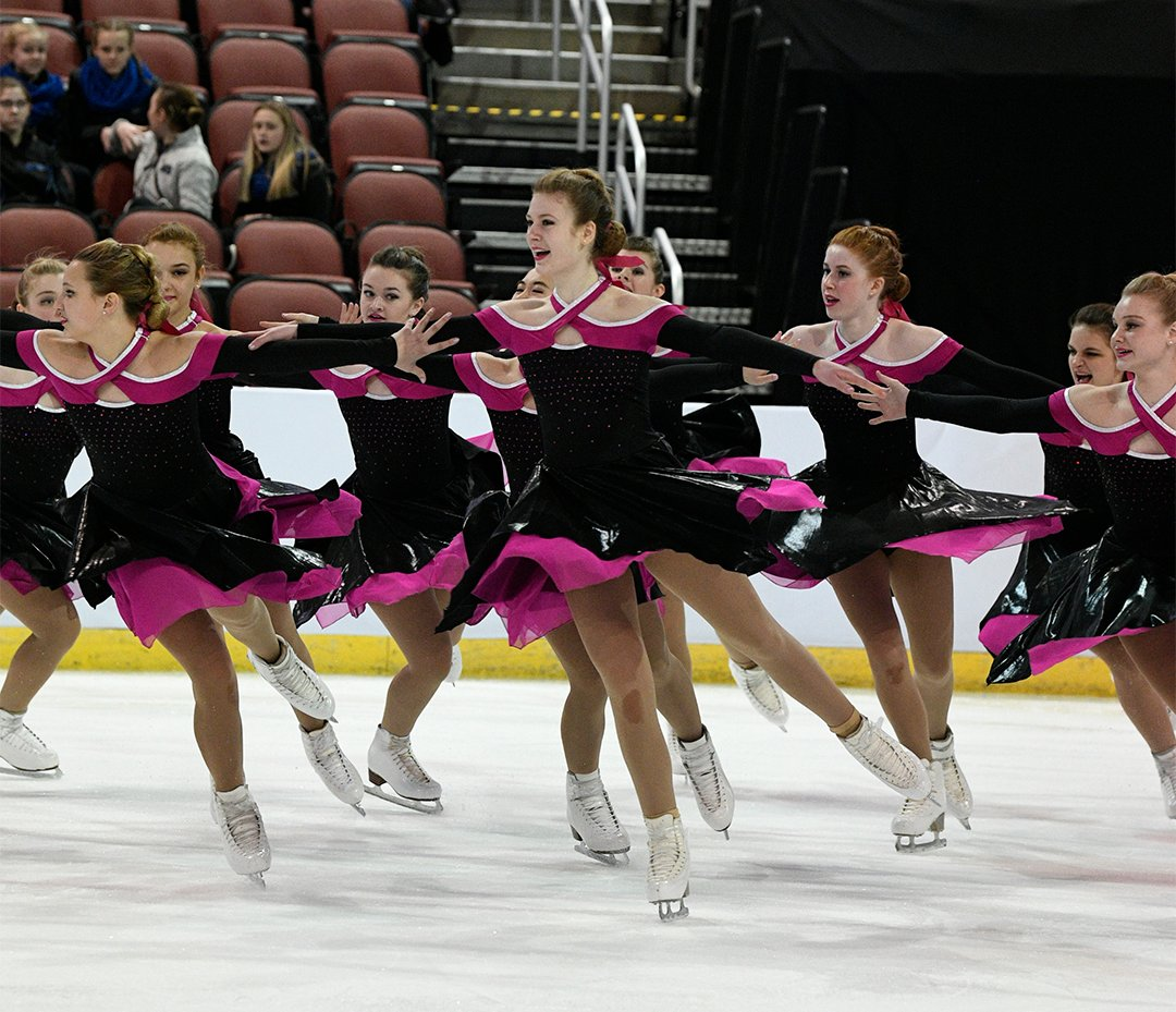 Wisconsin Inspire Intermediate Synchronized Skating Team