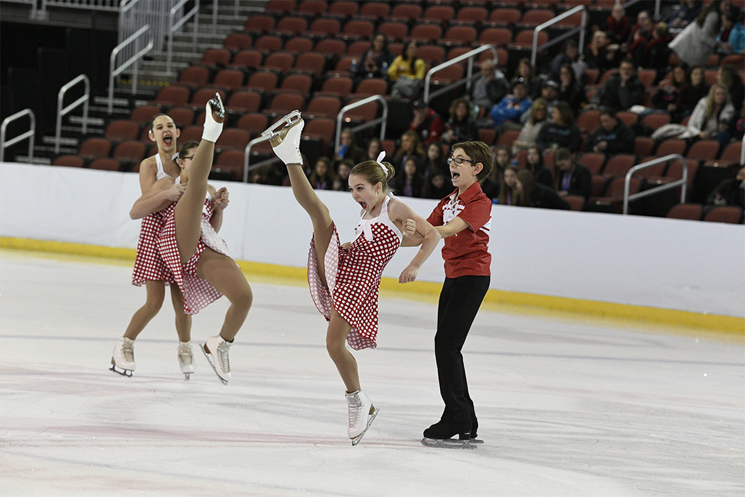 Wisconsin Inspire Juvenile Synchronized Skating Team