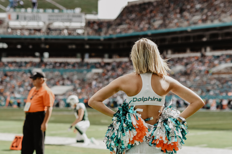 Miami Dolphins Cheerleaders new uniforms