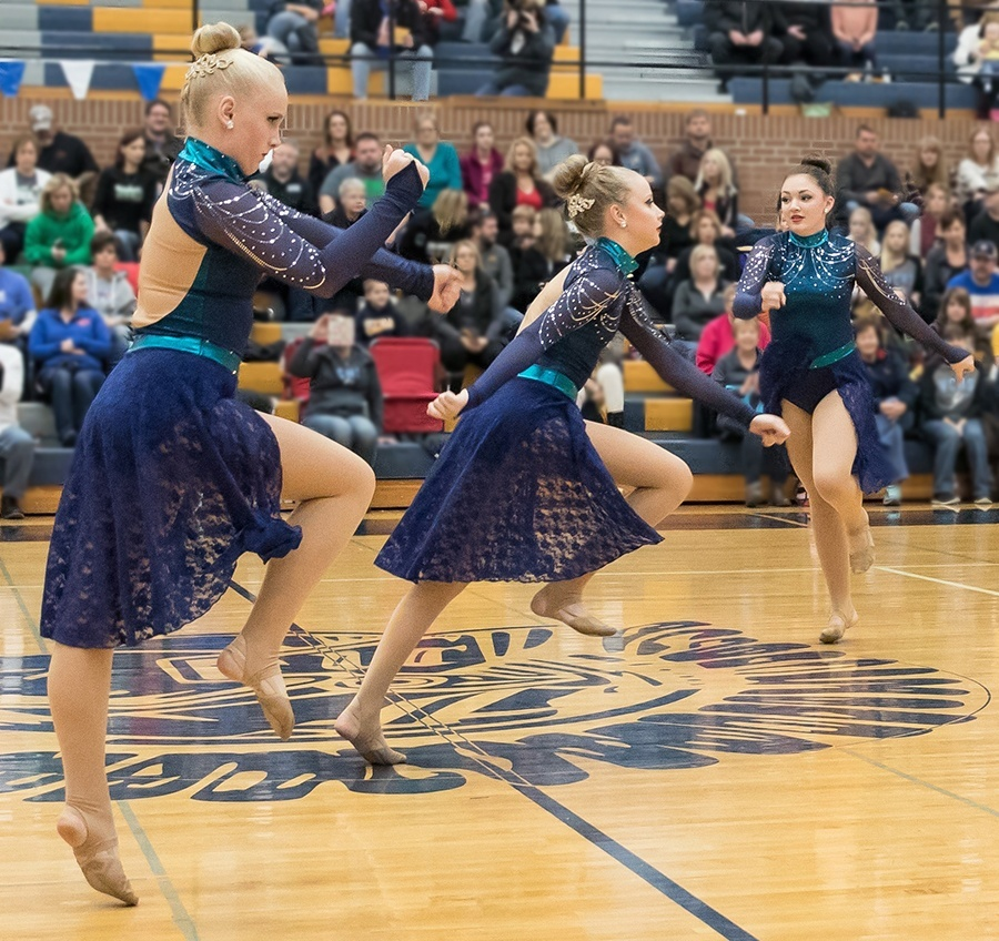 Valley city high school JV dance team jazz