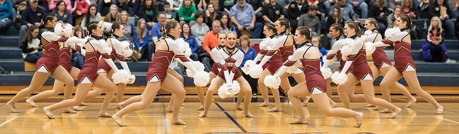 Fargo Davies - custom Pom uniform 2017