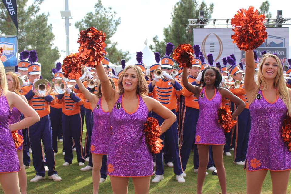 Clemson University Tiger Dancers College Dance team