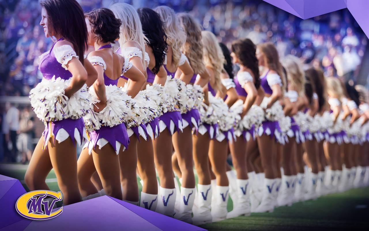 Minnesota Vikings cheerleaders uniforms
