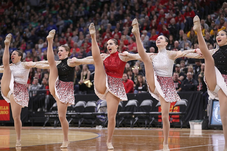 Lakeville North Dance Team High Kick Costume