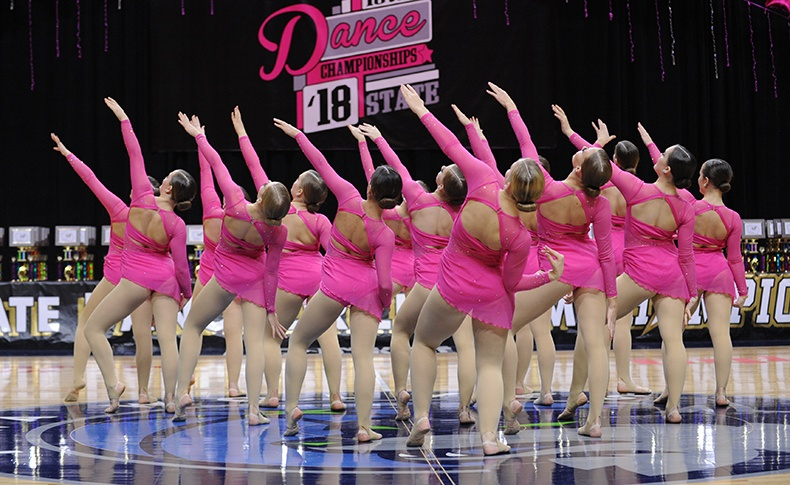 Iowa State Dance Team Competition contemporary dance costumes