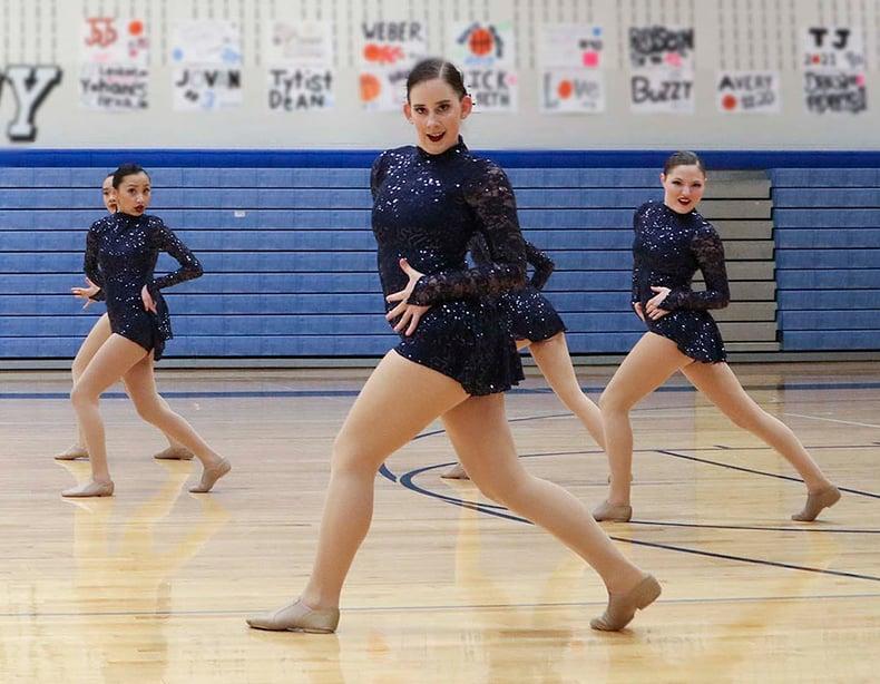 Roseville Dance Team Custom jazz costume