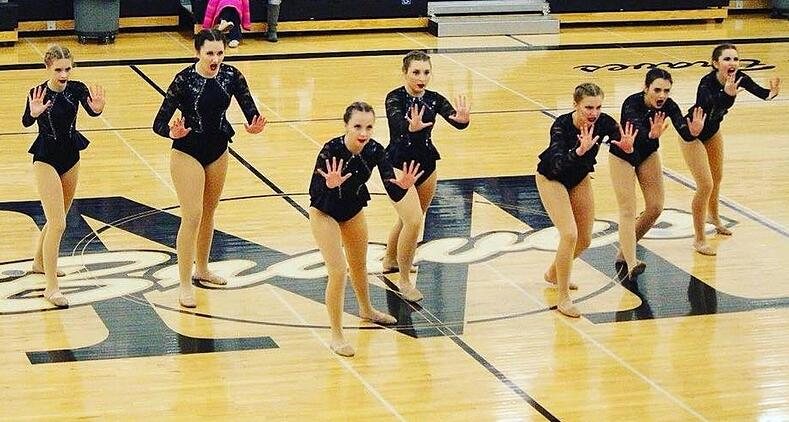 mandan kachinas dance team jazz performance